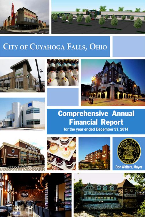 Cuyahoga Falls, Ohio Comprehensive Annual Financial Report Cover