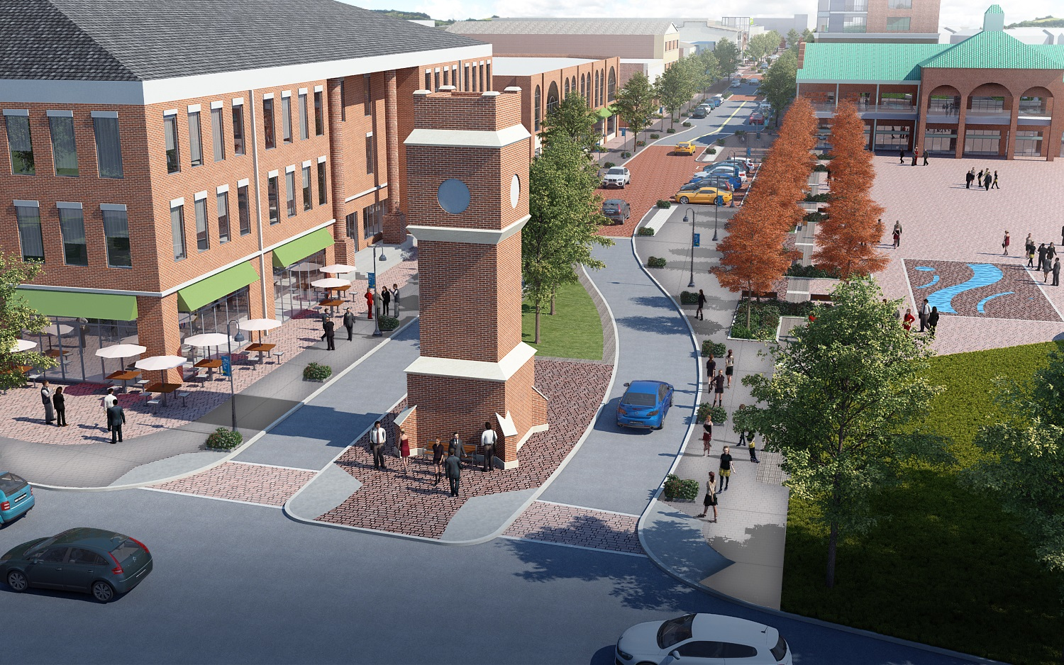 Downtown Revitalization Covers Photo : Downtown transformation city of cuyahoga falls