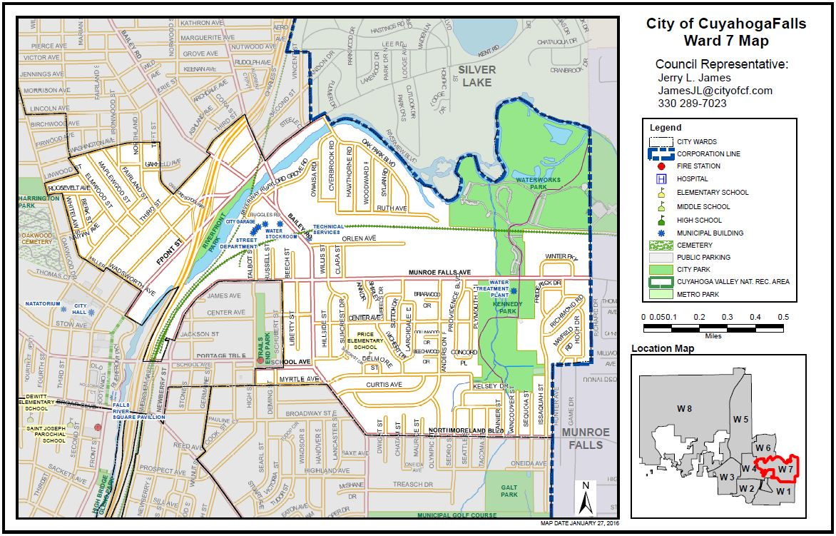 Ward Seven City Of Cuyahoga Falls