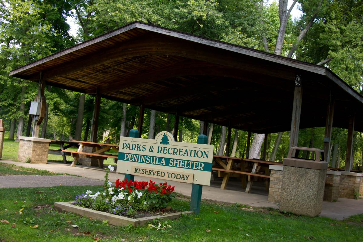 Small Park Shelters : Park lodges shelters city of cuyahoga falls